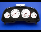 1992-1996 Nissan 300ZX Non-Turbo 180 KMH METRIC KPH White Face Gauges