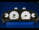 1998-1999 Nissan Sentra Gxe Tach White Face Gauges