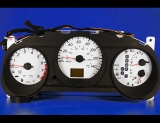 2002-2004 Nissan Altima Auto ABS White Face Gauges