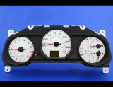2002-2004 Nissan Altima 3.5L LCD ABS White Face Gauges