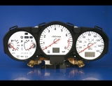 2003-2005 Nissan 350Z Automatic White Face Gauges