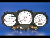 2003-2005 Nissan 350Z Manual White Face Gauges