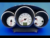 2005-2006 Nissan Altima 3.5 White Face Gauges