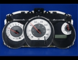 2007-2009 Nissan Versa White Face Gauges