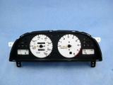 1993-1997 Nissan Altima White Face Gauges
