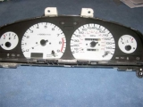 1991-1994 Nissan Sentra SE-R White Face Gauges