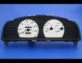 1993-1999 Nissan Sentra Non Tach White Face Gauges