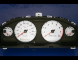 2000-2003 Nissan Sentra METRIC KPH KMH White Face Gauges