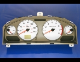 2004-2006 Nissan Sentra SE-R White Face Gauges 04-06