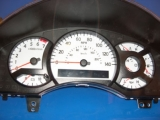 2004-2007 Nissan Titan Armada White Face Gauges