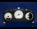 2002-2004 Nissan Xterra Frontier White Face Gauges