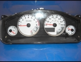 2005-2007 Xterra Pathfinder Frontier White Face Gauges 05-07
