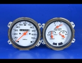 1976-1977 Oldsmobile Cutlass White Face Gauges