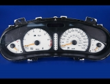 2000-2002 Oldsmobile Alero White Face Gauges