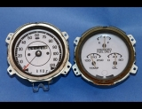1975 Oldsmobile Cutlass White Face Gauges