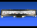 1968-1970 Plymouth Satellite 150 MPH Non-Rallye White Face Gauges
