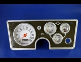 1964 Plymouth Barracuda White Face Gauges