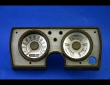 1965 Plymouth Barracuda Valiant White Face Gauges