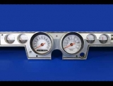 1966 Plymouth Barracuda White Face Gauges