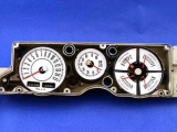 1967-1969 Plymouth Barracuda Rallye White Face Gauges