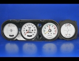 1965-1967 Pontiac GTO Rally Sport White Face Gauges