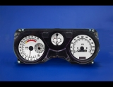 1970-1981 Pontiac Firebird METRIC KPH KMH White Face Gauges