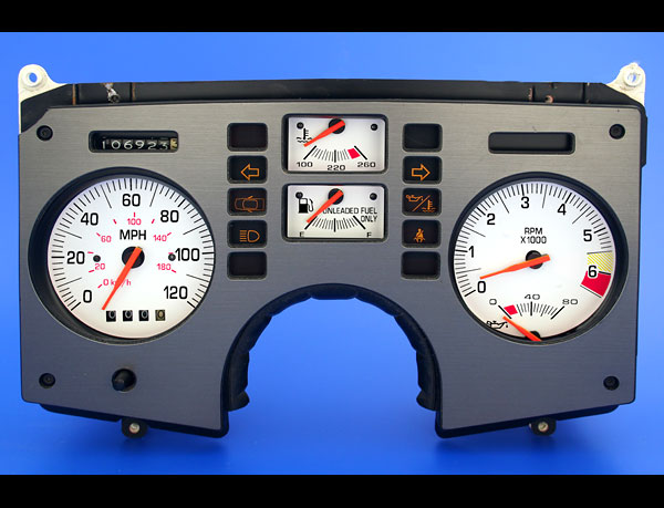 1985 Pontiac Fiero Se Gt 2 8l V6 Coupe White Face Gauges