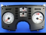 1984-1988 Pontiac Fiero 80 MPH SE Coupe 2.8L V6 White Face Gauges