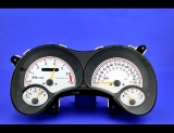 2000-2005 Pontiac Grand Am GT White Face Gauges