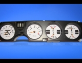1982-1985 Pontiac Firebird White Face Gauges
