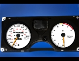 1986-1992 Pontiac Firebird 120 Mph White Face Gauges