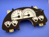 1993-1996 Pontiac Firebird 110 Mph V6 White Face Gauges