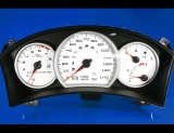 2004-2005 Pontiac Grand Prix White Face Gauges 04-05