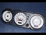 1964-1966 Pontiac GTO Lemans White Face Gauges