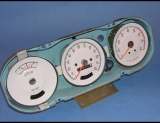1965-1967 Pontiac GTO Lemans Rally White Face Gauges