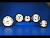 1974-1977 Porsche 911 911S 150 Mph White Face Gauges