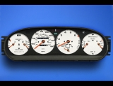 1986-1991 Porsche 944 Automatic White Face Gauges