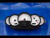 2002-2005 Porsche 996 Carrera White Face Gauges 02-05