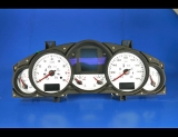 2003-2009 Porsche Cayenne White Face Gauges