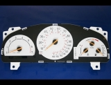 2002-2003 Saab 9-5 TURBO White Face Gauges