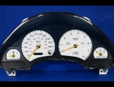 1996-1999 Saturn S-Series DOHC Digital White Face Gauges