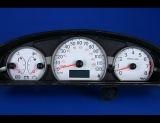 2003-2004 Saturn Ion White Face Gauges