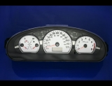 2005-2007 Saturn Ion White Face Gauges 05-07