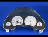 1995-1996 Saturn S-Series SOHC White Face Gauges