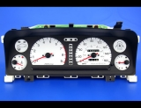 1992-1997 Subaru SVX White Face Gauges