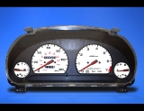 1994-1997 Subaru Legacy GT Manual White Face Gauges