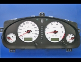 2000-2003 Subaru Legacy White Face Gauges