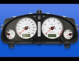 2004 Subaru Legacy White Face Gauges