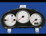 2004-2005 Subaru WRX White Face Gauges
