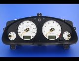 2004-2006 Subaru Baja Turbo White Face Gauges
